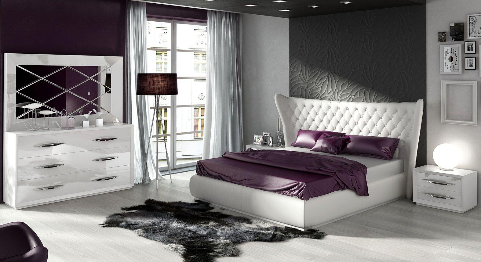 Dormitorio de Matrimonio Completo Tapizado