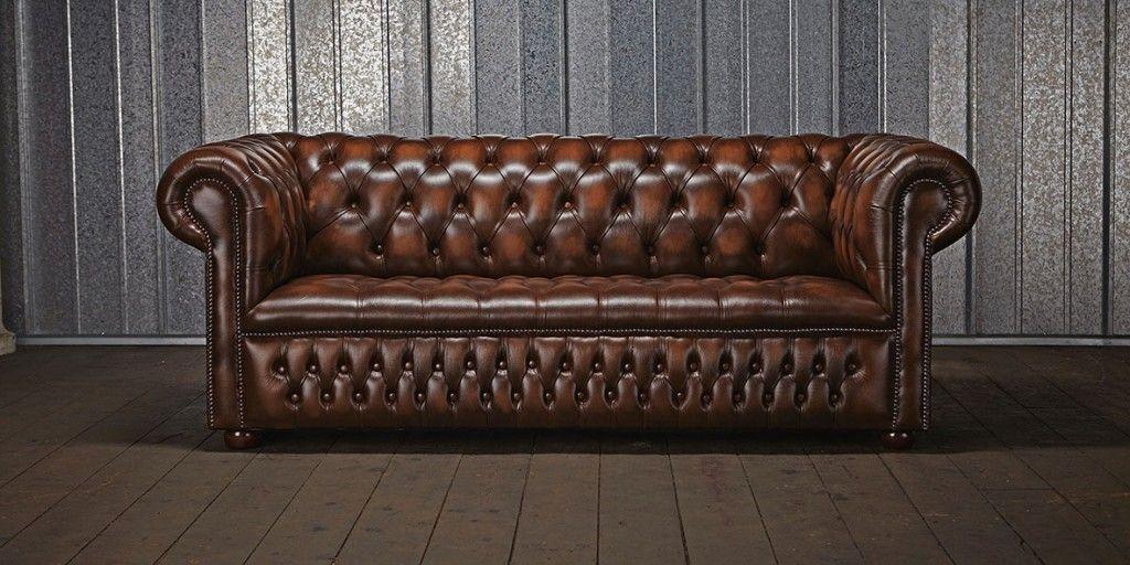Sofá Chester y el tapizado capitoné