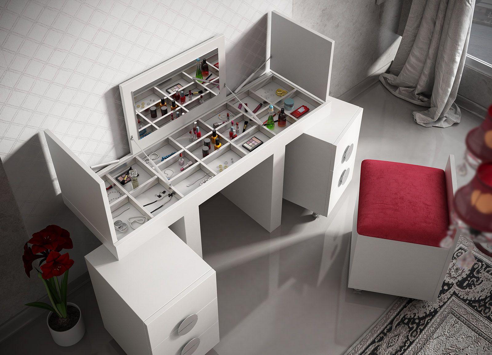 Tocadores de dormitorio - Habitacion con tocador ...
