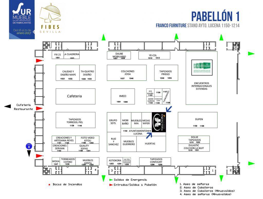 exhibitors Surmueble 2017 Fibes Sevilla