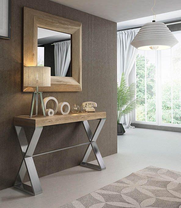 Recibidores de entrada recibidores modernos de diseo modelo mia muebles antiguos muebles de - Recibidores modernos merkamueble ...