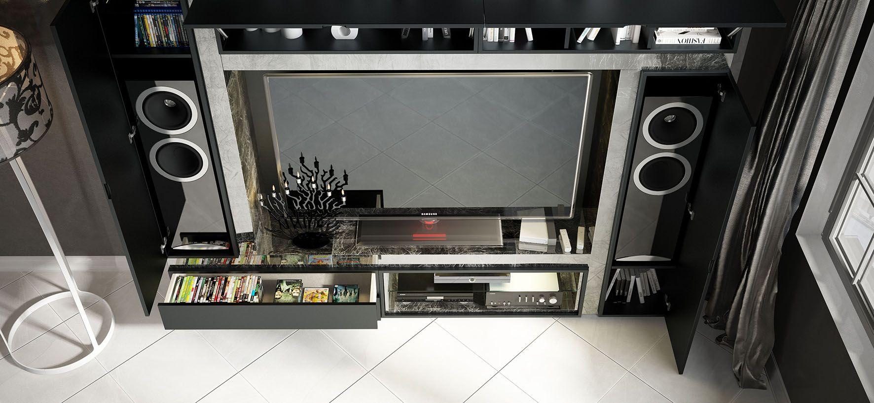 Mueble Compacto TV