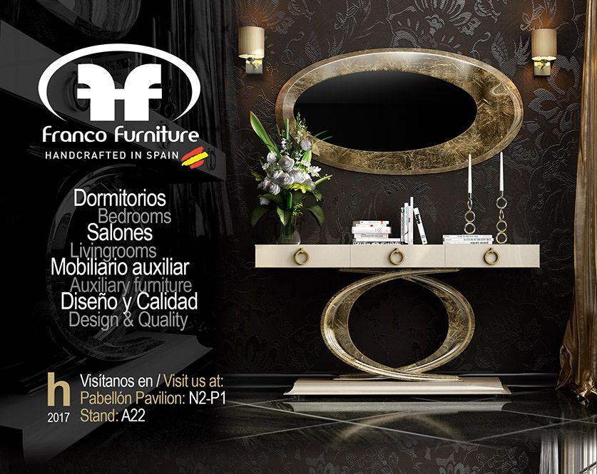 Habitat Valencia 2017 Franco Furniture