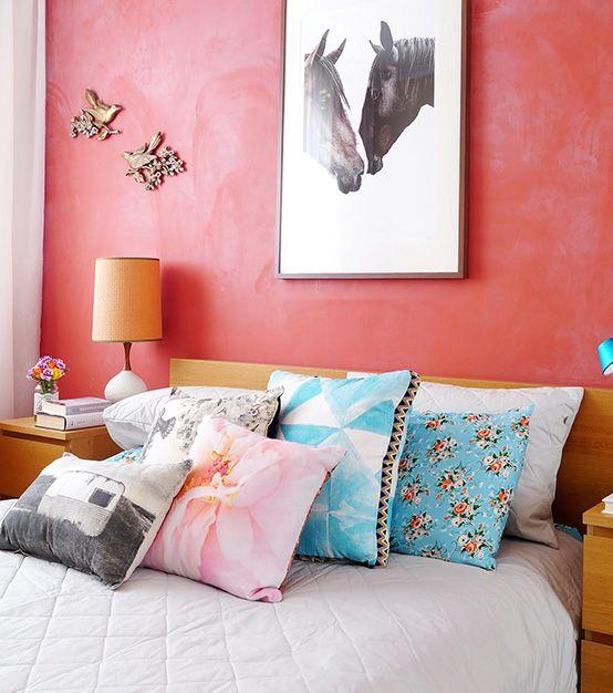 Colores para dormitorio Coral