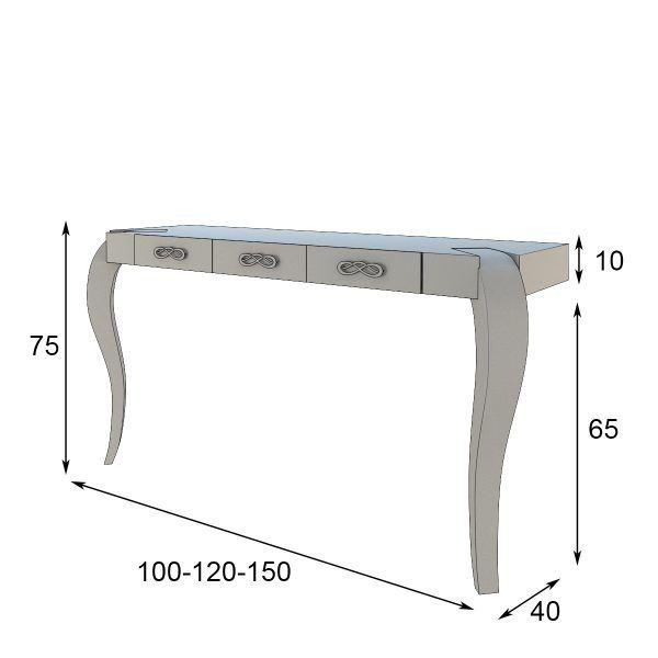 Medidas Mueble Recibidor