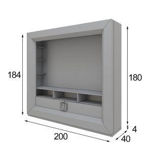 Medidas muebles TV