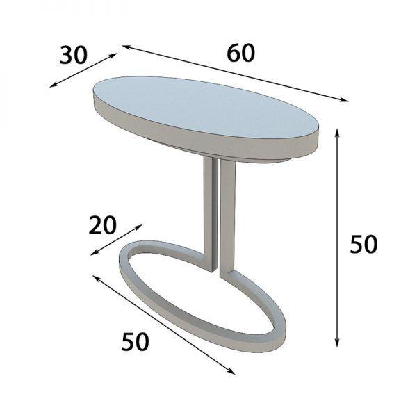 Bedside tables measures