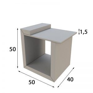 Bedside tables measures