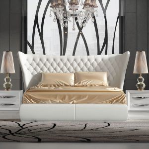 Capitone Upholstered Bedroom