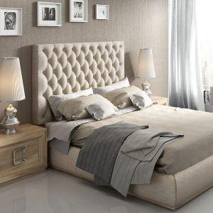 Capitone Headboard Bedroom