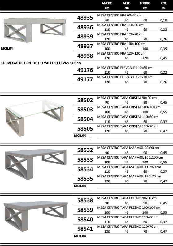 Center Table Measure