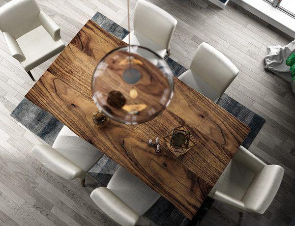 Mesas comedor detalle