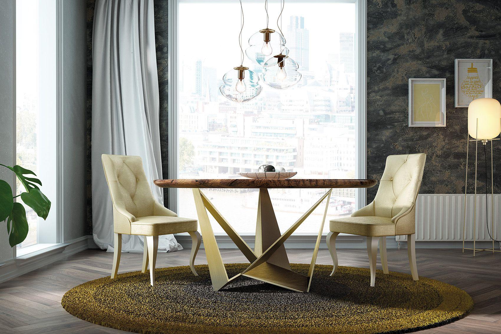 Mesa comedor mii14 franco furniture - Mesa comedor redonda ...