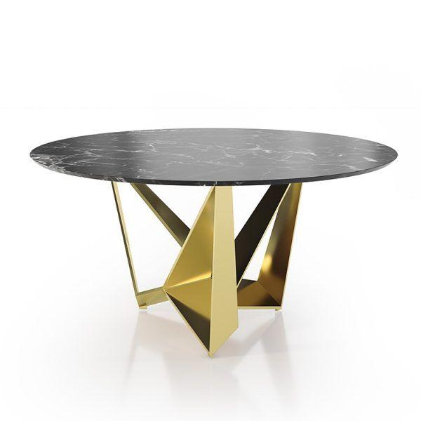 Mesas comedor marmol redondas