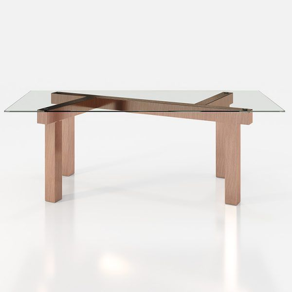Glass dining tables