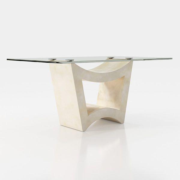 Mesas comedor cristal