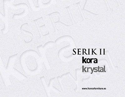 Catálogo Muebles Serik Kora