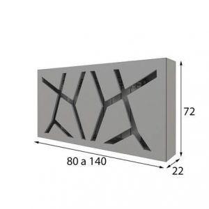 Medidas cubreradiador