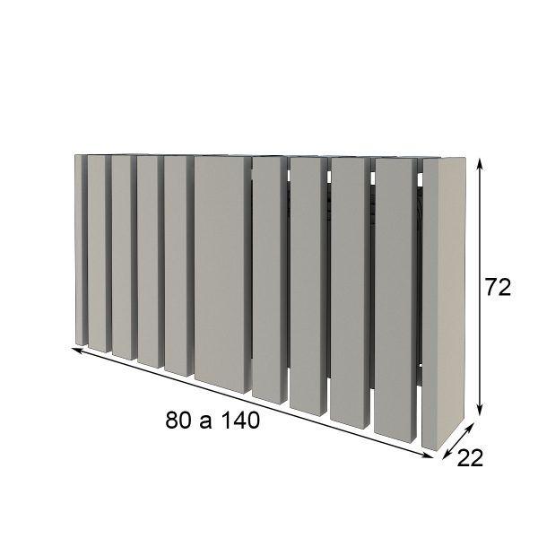 Radiator cover measures