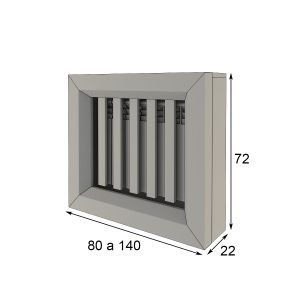 Radiator cover measures