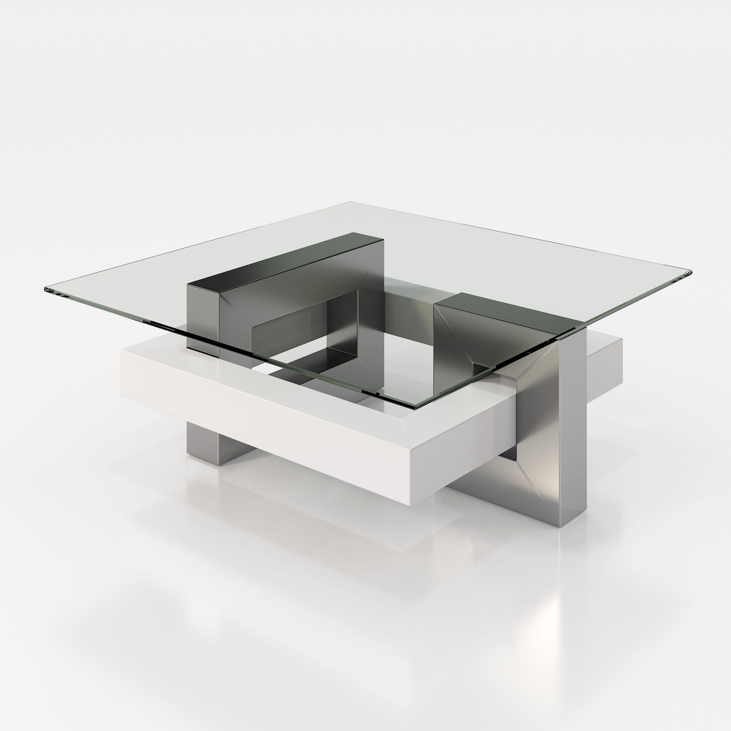 Mesas de Centro de Diseño con Cristal