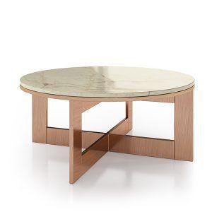 Mesas de centro de marmol redondas