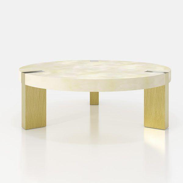 Mesas de centro redondas