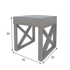 Pouf and bench measures