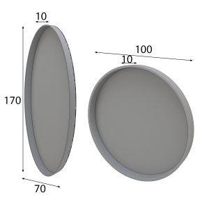 mirror measurements