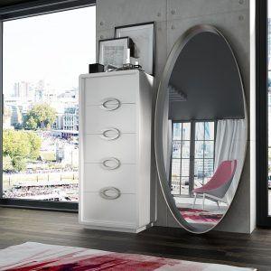 Sinfonier y espejo para dormitorio
