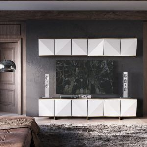 Modular de Salón Diseño Moderno