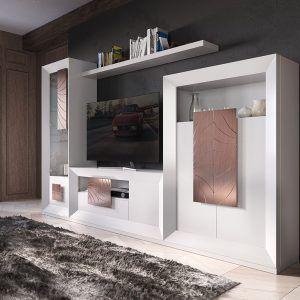 Composicion modular salon TV