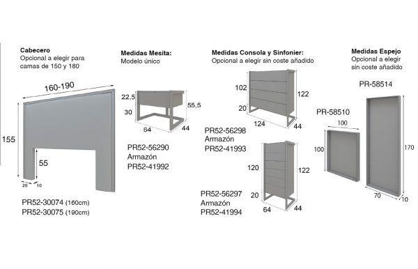 medidas dormitorio pr52