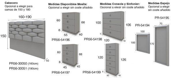 medidas dormitorio pr56