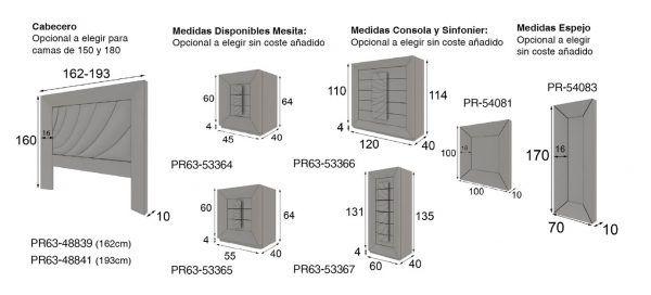medidas dormitorio pr63