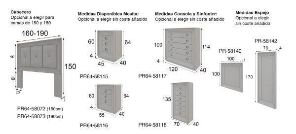 medidas dormitorio p64