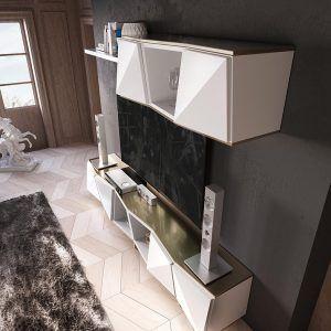 Modular TV diseño moderno