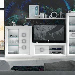 Composición TV salón Enzo