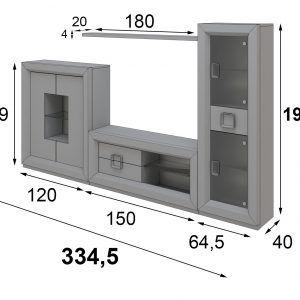 medidas modular tv enzo