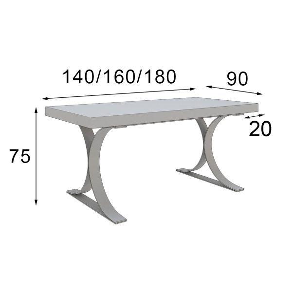 Mesa de Diseño medidas