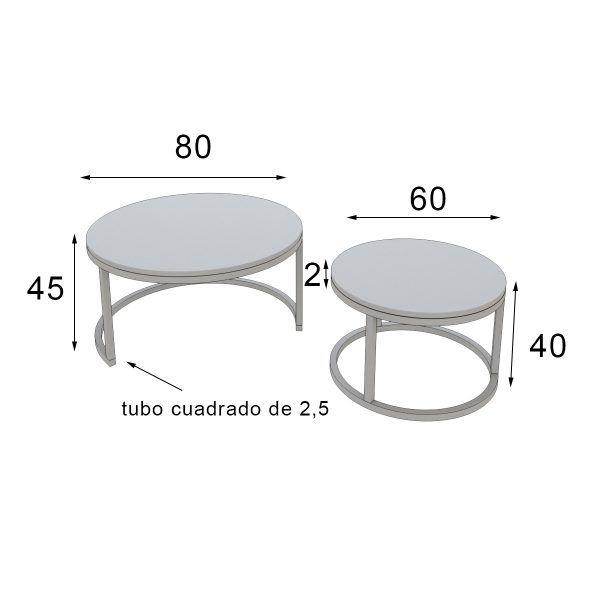 medidas mesa de centro