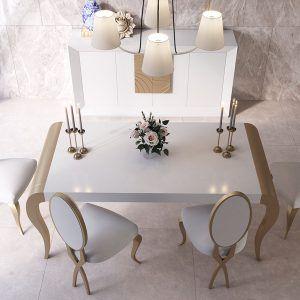 Mesa clásica comedor