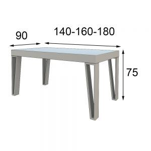Modern table measures