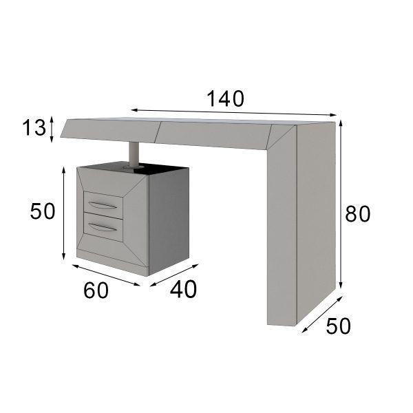tocador de diseño medidas