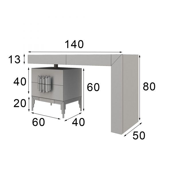 measurements dressing table design