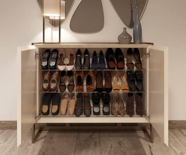 Designer shoe rack and good size