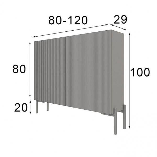 shoe rack cabinet measures